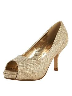 shoe-box-fey-mid-heel-peep-toe-court-shoes-gold