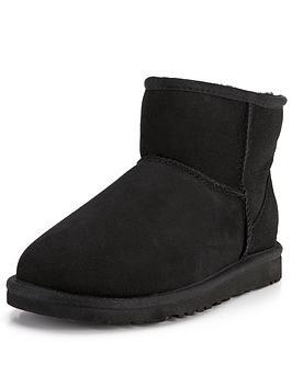 ugg-australia-classic-mini-ankle-boots-black