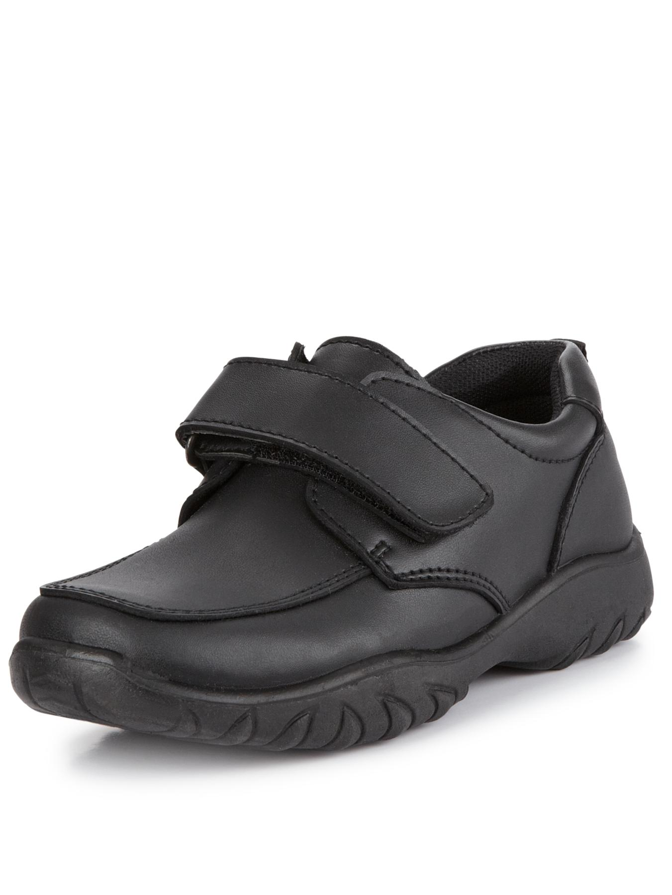 Ladybird Logan Toddler Boys Strap Shoes - Black, Black