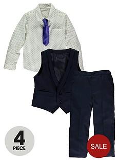 ladybird-boys-4-piece-smart-shirt-tie-waistcoat-and-trousers-set