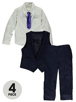 ladybird-boys-4-piece-smart-shirt-tie-waistcoat-and-trousers-set
