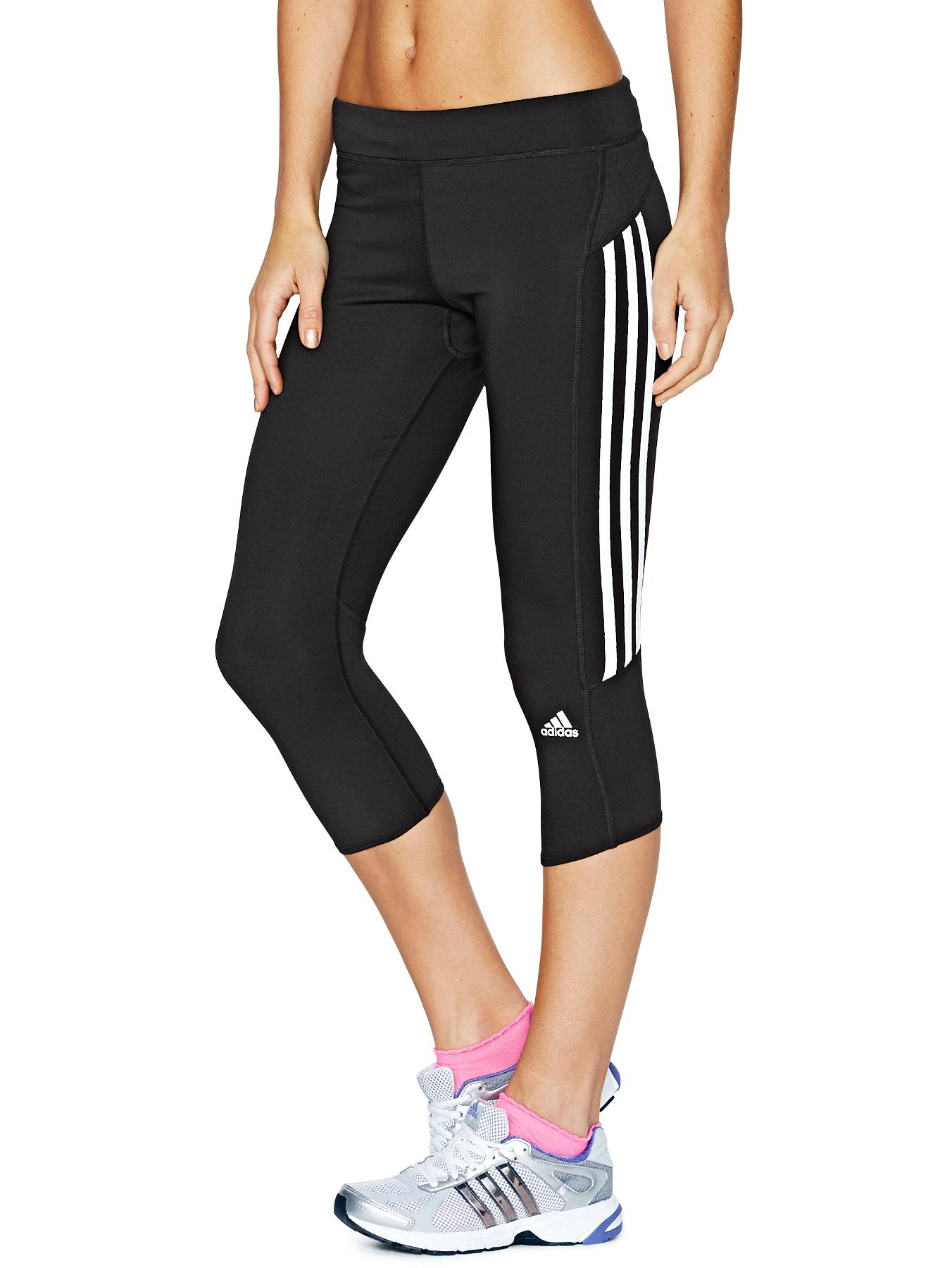 adidas Response 3/4 Tights - Black, Black