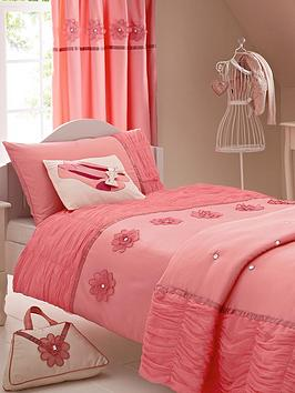 little-misdress-tulle-flower-duvet-cover-pillowcase-set