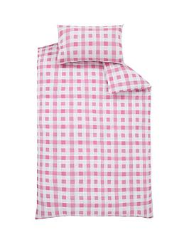ladybird-hearts-and-checks-single-duvet-cover-set-buy-1-get-1-free