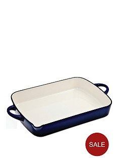 denby-imperial-blue-cast-iron-oblong-roaster