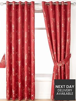 tokyo-jacquard-blackout-eyelet-curtains