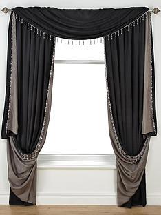 laurence-llewelyn-bowen-grande-finale-faux-silk-reversible-slot-top-curtains