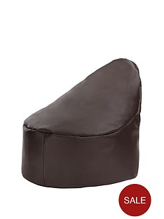 faux-leather-slouch-chair