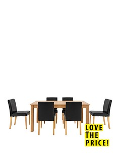 primo-150-cm-dining-table-6-lucca-chairs-set