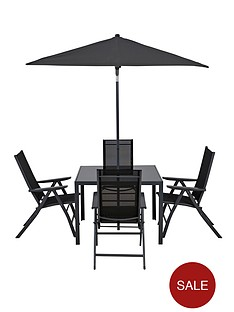 roma-6-piece-recliner-dining-set