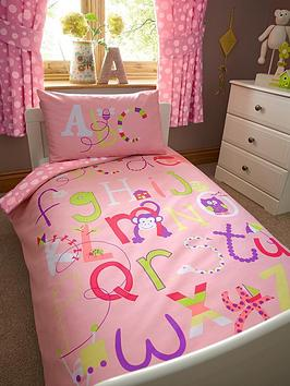 ladybird-alphabet-girls-toddler-single-quilt-cover-and-pillowcase-set