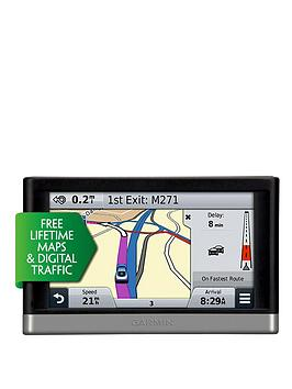 garmin-nuvi-2568lmt-d-with-uk-roi-and-western-europe-sat-nav-with-lifetime-maps