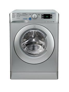 indesit-xwe91282xs-1200-spin-9kg-load-washing-machine-silver