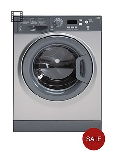 hotpoint-wmxtf842g-1400-spin-8kg-load-washing-machine-graphite
