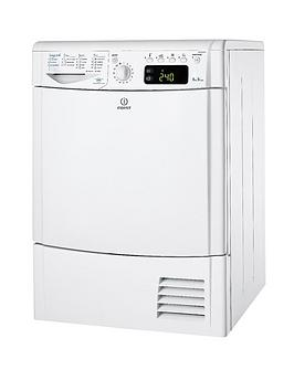 indesit-ecotime-idce8450bh-8kg-load-condenser-dryer-white