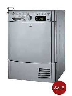 indesit-idce8450bsh-8kg-load-condenser-dryer-silver