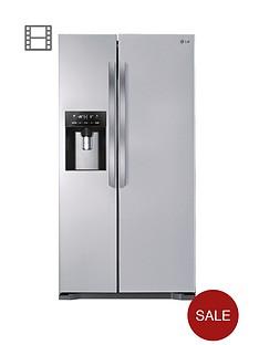 lg-gsl325pvqv-frost-free-usa-style-fridge-freezer-silver