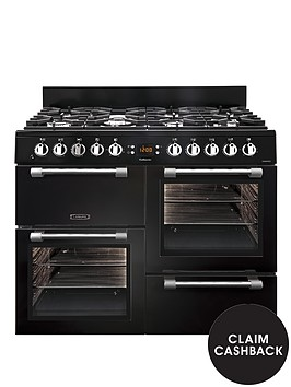 leisure-ck100f232k-100cm-dual-fuel-cooker-black