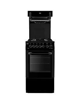 beko-ba52nek-50cm-gas-cooker-with-connection-black