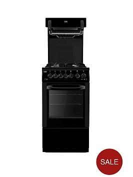 beko-ba52nek-50cm-gas-cooker-with-connection-black