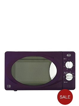 swan-sm22010u-800-watt-20-litre-manual-microwave-purple