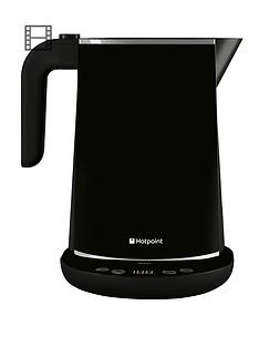 hotpoint-wk30eab0uk-stainless-steel-digital-kettle-black