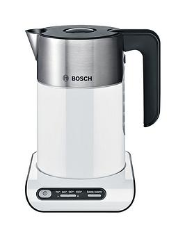 bosch twk8631gb styline cordless kettle white. Black Bedroom Furniture Sets. Home Design Ideas