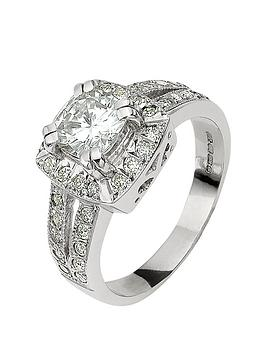 moissanite-moissanite-18-carat-white-gold-185-points-cushion-set-ring-with-stone-set-shoulders
