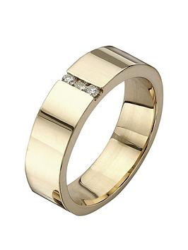 love-gold-9-carat-yellow-gold-diamond-set-band-ring