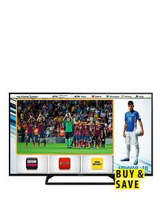 panasonic-tx-42as500b-42-inch-hd-ready-freeview-hd-led-smart-tv