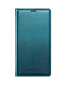 samsung-original-galaxy-s5-flip-wallet-blue-topaz