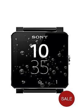 sony-smart-watch-2-sw2-includes-two-straps-x1-black-and-x1-brazilian-fabic-strap