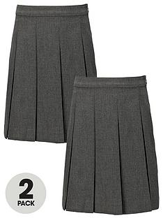 top-class-girls-school-uniform-woven-standard-permanent-pleat-skirts-2-pack