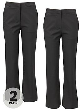 top-class-girls-woven-school-uniform-long-trousers-2-pack