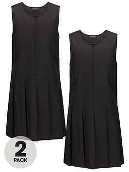 top-class-girls-woven-school-pinafores-2-pack