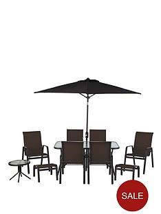 versailles-11-piece-dining-set-brown