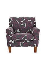 Lola Fabric Accent Armchair