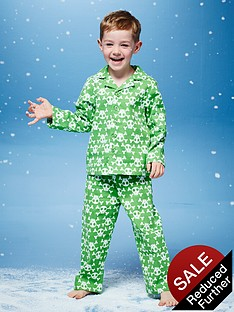 ladybird-boys-skull-flannel-pyjamas