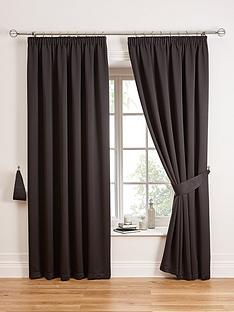 black  bedroom  curtains  blinds  home  garden  .very.co.uk, Bedroom decor