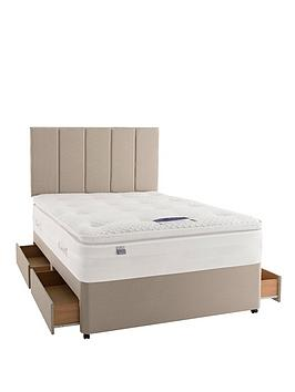 silentnight-mirapocket-1850-geltex-divan-with-optional-storage