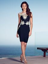 Michelle Keegan Appliqué Dress