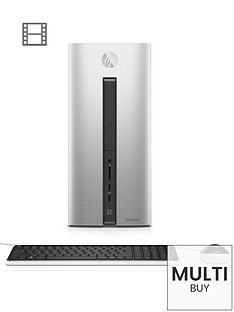 hp-pavilion-550-030na-intelreg-coretrade-i3-processor-8gb-ram-1tb-hdd-storage-desktop-base-unit-intelreg-hd-with-optional-microsoft-office-365-personal-natural-silver