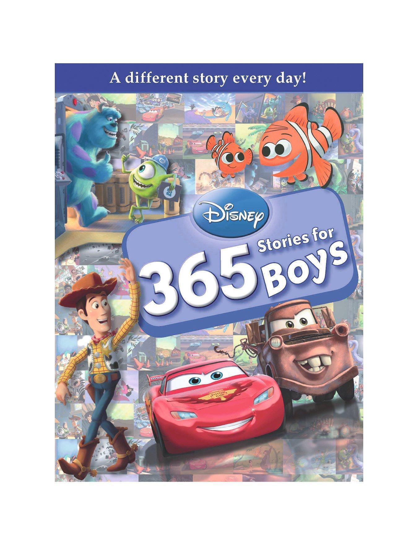 Disney Boys 365 Stories (Hardback)