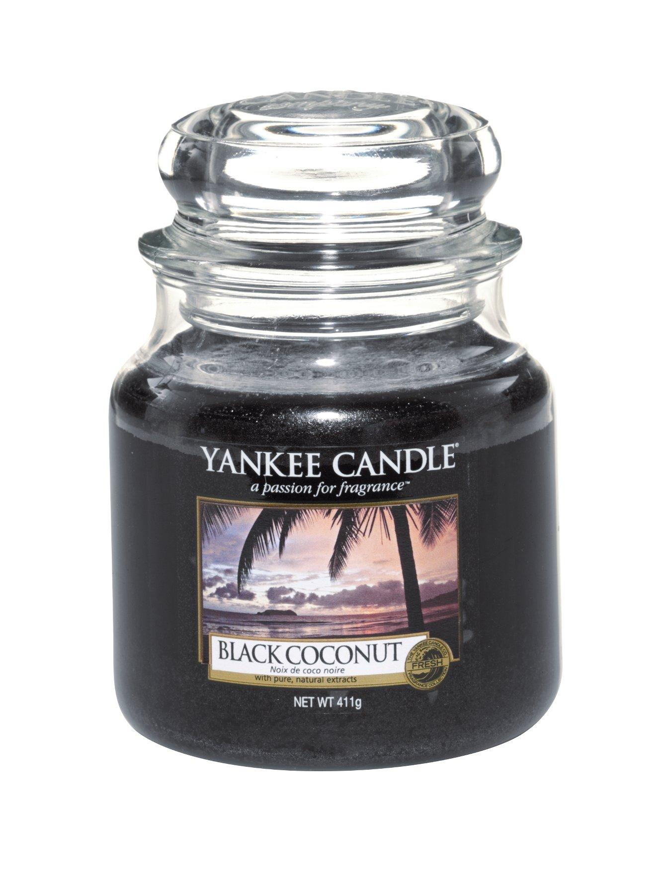 Yankee Candle Medium Jar - Black Coconut.