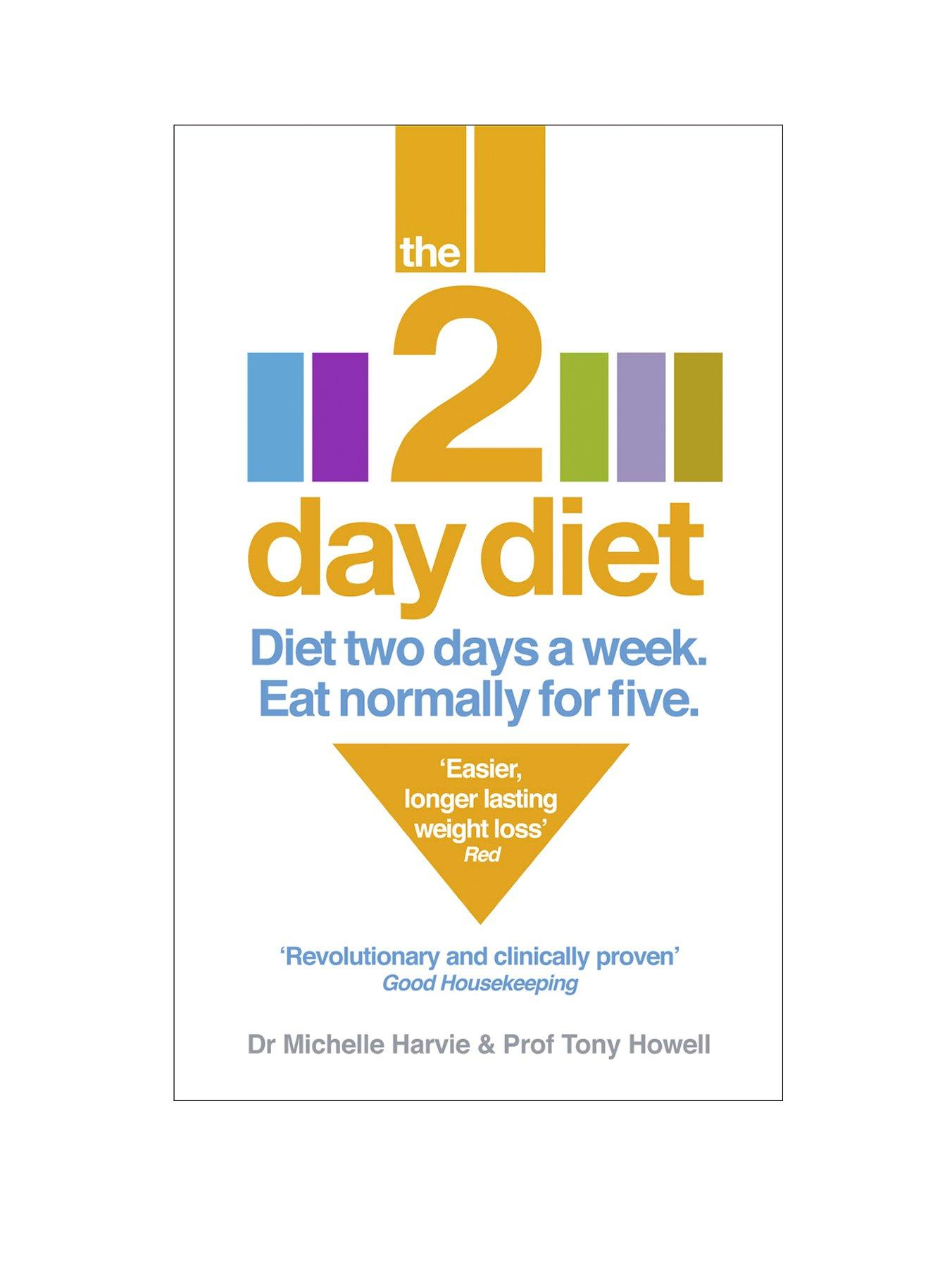 The 2-Day Diet: Diet Two Days a Week. Eat Normally for Five (Paperback)