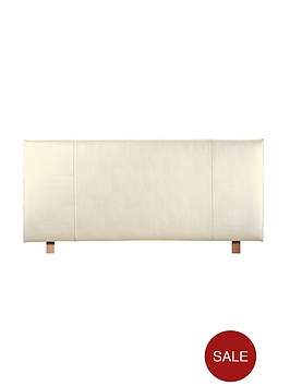 silentnight-faux-leather-headboard