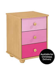 kidspace-metro-3-drawer-bedside-table