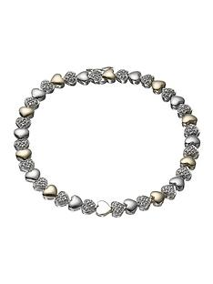 love-silver-9-carat-gold-and-silver-diamond-set-bracelet