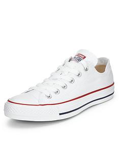 0704bb8e19b1f5 Converse Chuck Taylor All Star Ox Plimsolls - White