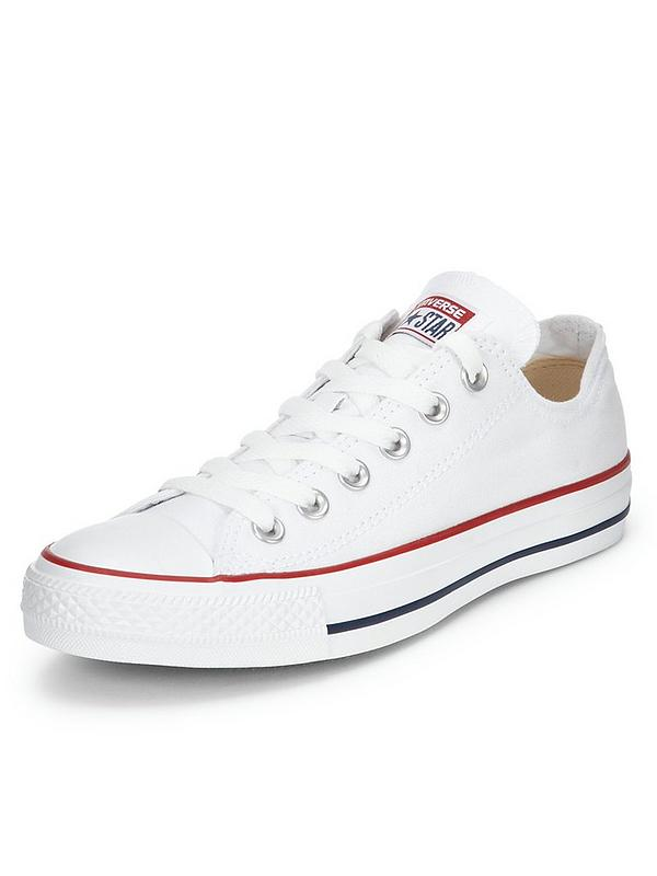 newest 97d4c a4eb5 Chuck Taylor All Star Ox Plimsolls - White
